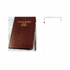 God's Word for the Family--Bonded Leather