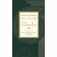 God's Words of Life for Dads-Deluxe Edition