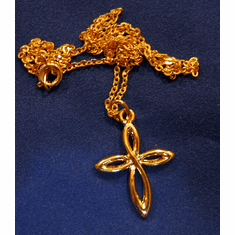 Goldplated Cross Pendent