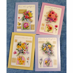 Good Cheer Thank You-12 Greeting Cards