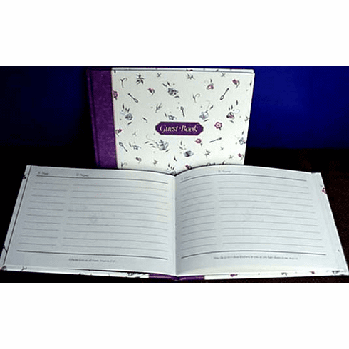 Guest Book--Coffiee Or Tea