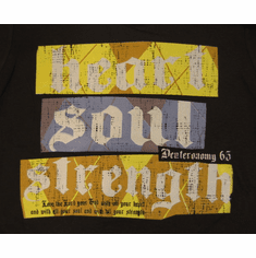 Heart, Soul, Strength- Youth T-Shirt-Small