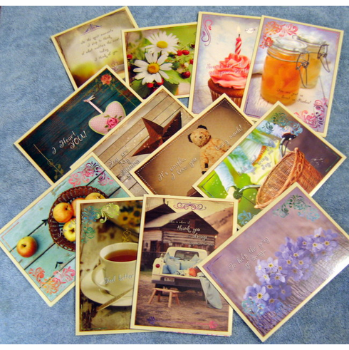 Heart To Heart- 24 All Occasion Deluxe Greeting Cards