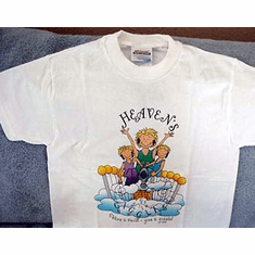 Heaven Giggles-Children T-Shirt