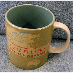 Jesus Big Mug-For All Mankind