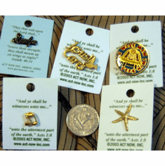 Lapel Pin Selection-5 pins