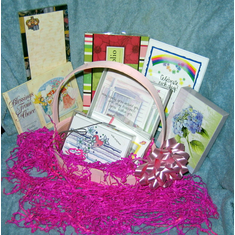 Large Gift Basket-Pink