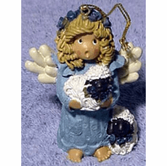 Little Girl Angel-Ornament