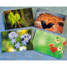 Love Of God Encouragement-12 Greeting Cards