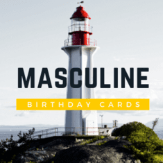 Masculine Birthday Cards