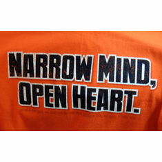 Narrow Mind - T-shirt-Large
