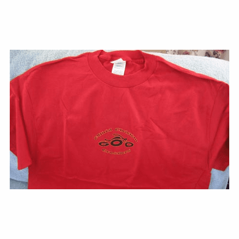 Official Christian Crusaders-Tee Shirt-Red-Small