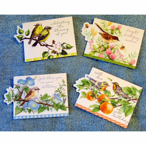 PETITE GREETINGS - BOX CARD SET WITH SCRIPTURE-12 Cards