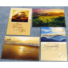 Precious Memories Sympathy- 12 Greeting Cards