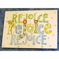 Rejoice-Christmas Notes-Pack of 20