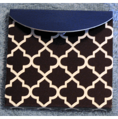 Sticky Note Flags-Quatrefoil