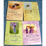 Tenderness-12 Sympathy Greeting Cards