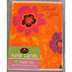 Thank You-10 Note Cards