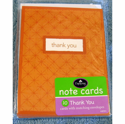 Thank You-2 Packs Of 10 Note Cards