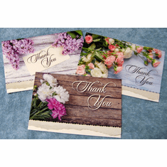 Thank You With Gratitude - 12 Greeting Cards