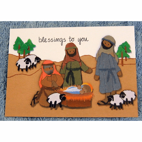 The Christmas Blessing- 2 Packs of 10 Note Cards