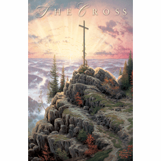 The Cross Gospel Track- Pack of 25