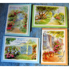 Though & Prayer- Thinking Of You-12 Greeting Cards