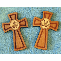 Three Dimensional Wood Wall Crosses