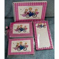 Three On A Bike-Gift Set