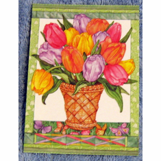 Tulips Note- 2 Packs Of 10-Blank