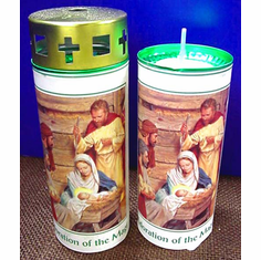 Two--Adoration Of The Magi Candles