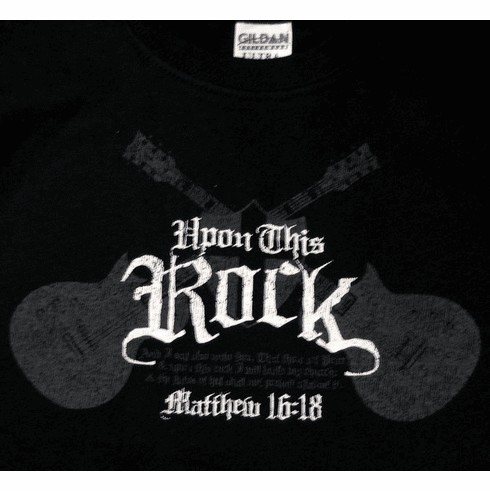 Upon This ROCK-Youth T-Shirt-XSmall