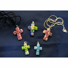 Venetian Glass Cross