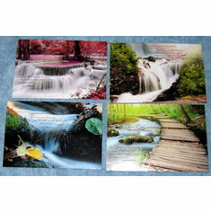 WATERSCAPES - GET WELL GREETING CARDS