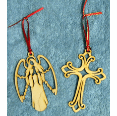Wood Christmas Ornaments Special