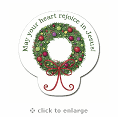 Wreath Collection - Premium Seals- Pack Of 12