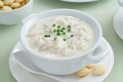 18 oz Clam Chowder (Serves Two)