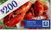 $200.00 LobsterGuy Gift Certificates (Mailed)