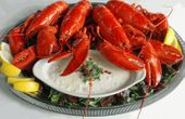 Four 1 1/2 Lb. Lobsters & Clam Chowder