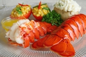 5 to 6oz. Medium Size Maine Lobster Tails!