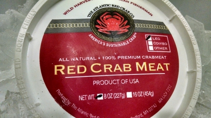 Atlantic Red Crab Meat!