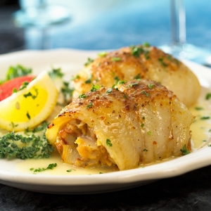 Classic Baked Stuffed Flounder!