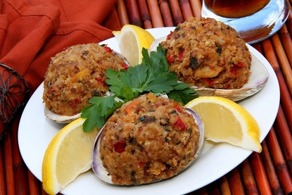 Gourmet Stuffed Clams