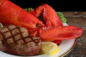 Live Lobster Surf And Turf Dinner <br>With Free Shipping!