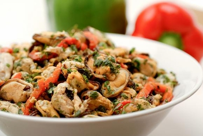 Marinated Mussel Salad