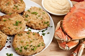 Crab Cakes, Lobster Cakes & More!