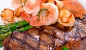 Jumbo Shrimp & Sea Scallops Surf n' Turf!