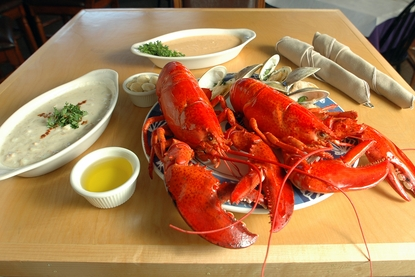 """The """"Mariner"""" Lobster Dinner for Two!"""