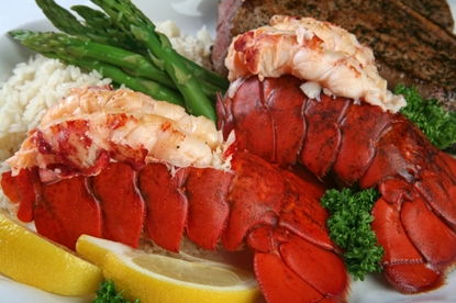 (Two Count) 8-10 oz. Maine Lobster Tails!