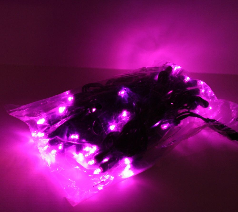 Click To Enlarge Pink Led Christmas Lights